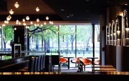 """Lounge cafe """"ВИТРАЖИ""""."""
