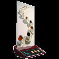 iBells 316 - многофункциональная кнопка вызова (вишня)