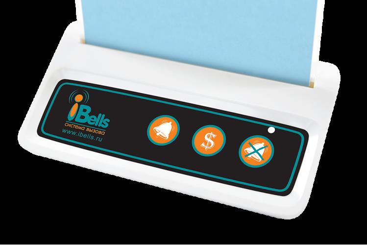 iBells 316 -  многофункциональная кнопка вызова (белый)
