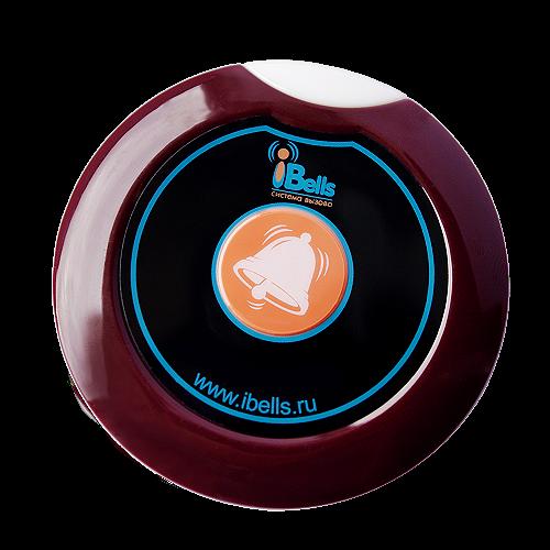 iBells 305 - мини кнопка вызова (вишня)