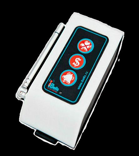 iBells 307 -  кнопка вызова персонала c усиленным сигналом (белый)