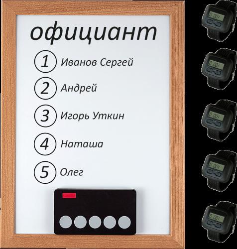 iBells 5 - комплект вызова для кухни