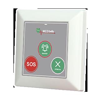Med 53V-G - беспроводная кнопка с функцией экстренного вызова