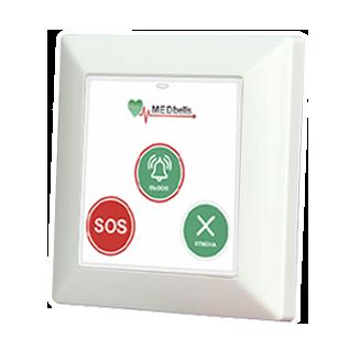 Med 53V-W - беспроводная кнопка с функцией экстренного вызова