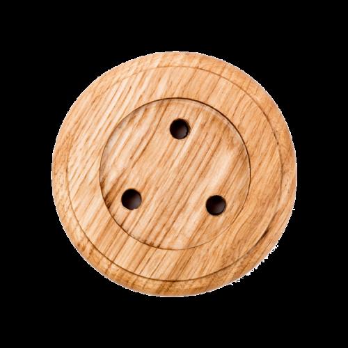 iBells 702 -  деревянная подставка для кнопки iBells 305 (светлое дерево )