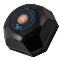 iBells 301 -  кнопка вызова персонала (чёрный)