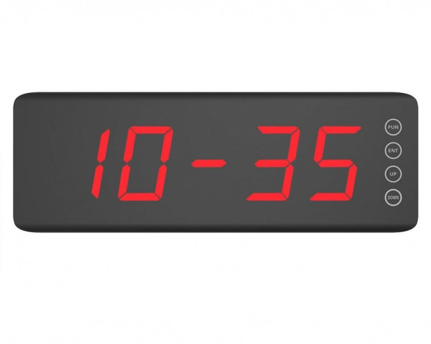 iBells 150 - пятизначное табло вызова (чёрный матовый)