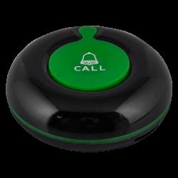 K-01 влагозащищённая кнопка вызова (чёрный/зелёный)