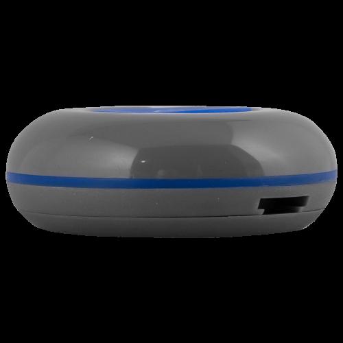 K-01 влагозащищённая кнопка вызова (серый/синий)