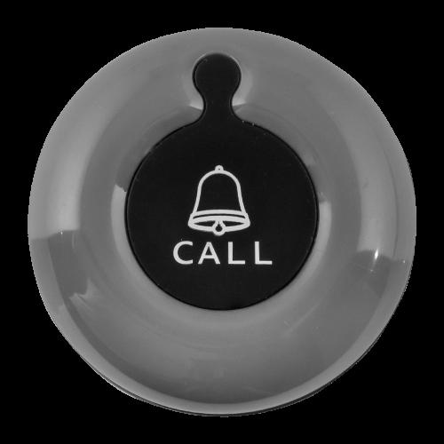 K-01 влагозащищённая кнопка вызова (серый/чёрный)