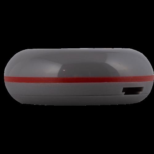 K-01 влагозащищённая кнопка вызова (серый/красный)