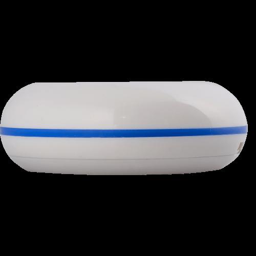 K-01 влагозащищённая кнопка вызова (белый/синий)