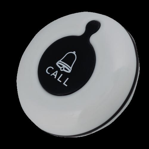 K-01 влагозащищённая кнопка вызова (белый/чёрный)
