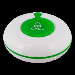 K-01 влагозащищённая кнопка вызова (белый/зелёный)