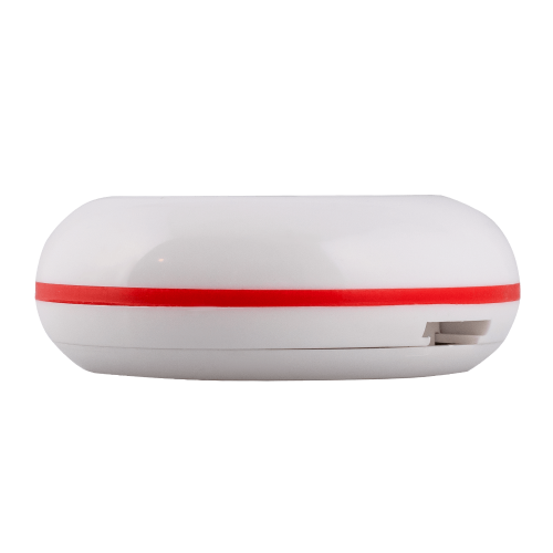 K-01 влагозащищённая кнопка вызова (белый/красный)