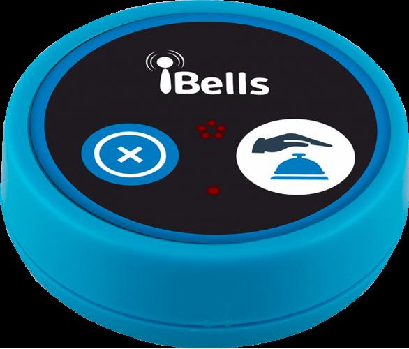 K-D2 кнопка вызова персонала (синий)