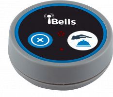 K-D2 кнопка вызова персонала (серый)