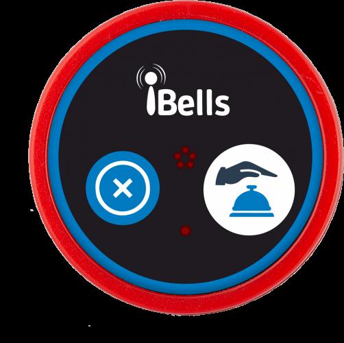 K-D2 кнопка вызова персонала (красный)