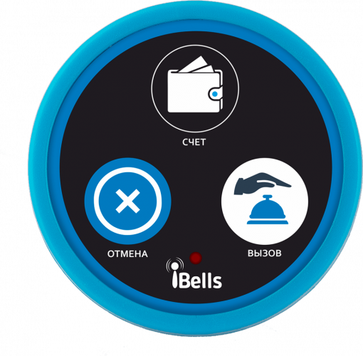 K-D3 кнопка вызова персонала (синий)