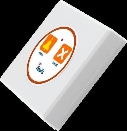 K-DW2 кнопка вызова персонала (белый)