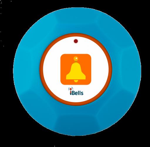 K-M-W кнопка вызова персонала (синий)