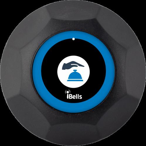 K-M кнопка вызова персонала (чёрный)