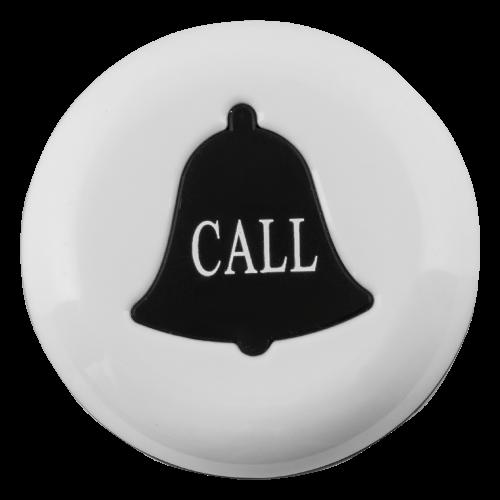 K-V влагозащищённая кнопка вызова (белый/чёрный)