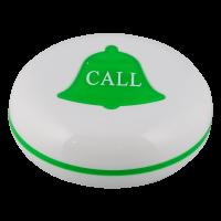 K-V влагозащищённая кнопка вызова (белый/зелёный)