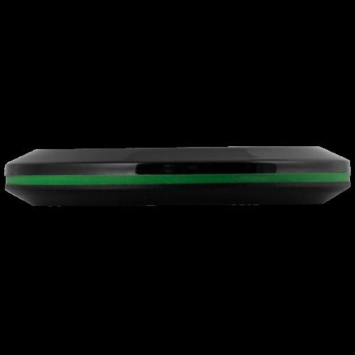 K-X1 влагозащищённая кнопка вызова (чёрный/зелёный)