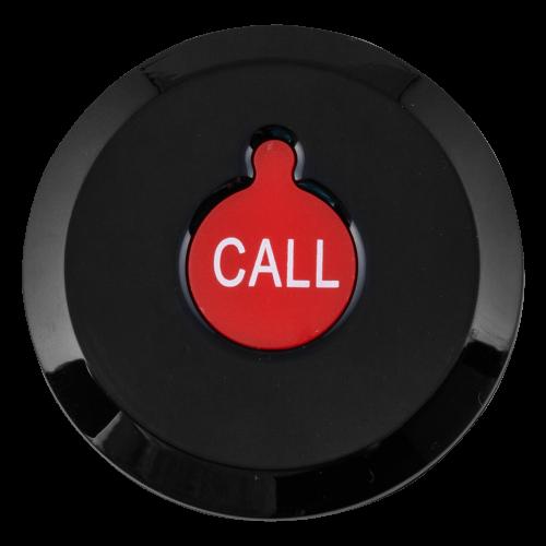K-X1 влагозащищённая кнопка вызова (чёрный/красный)