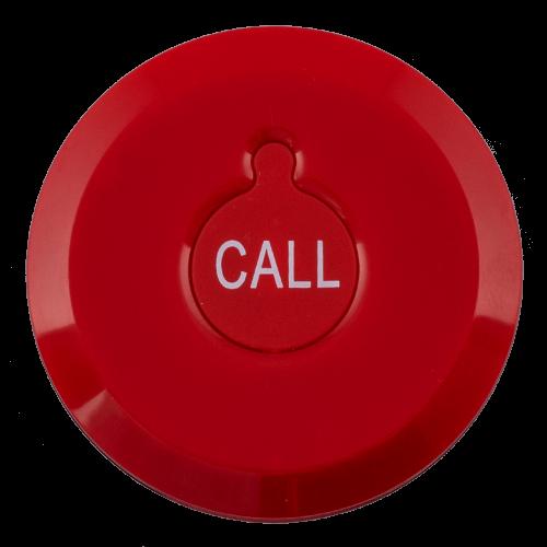 K-X1 влагозащищённая кнопка вызова (красный)