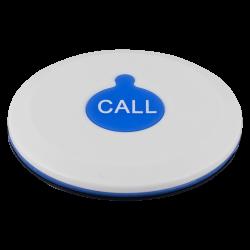K-X1 влагозащищённая кнопка вызова (белый/синий)