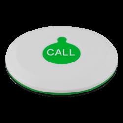 K-X1 влагозащищённая кнопка вызова (белый/зелёный)