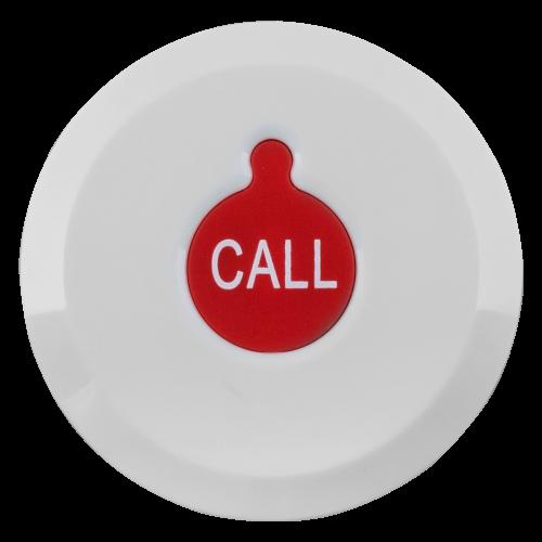 K-X1 влагозащищённая кнопка вызова (белый/красный)