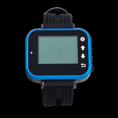 K-300 PLUS наручный пейджер (синий)