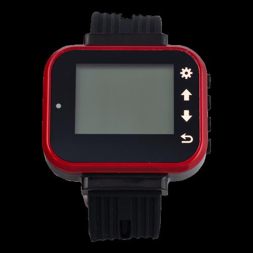 K-300 PLUS наручный пейджер (красный)