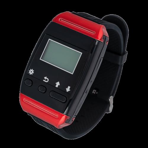 K-650 наручный пейджер (красный)