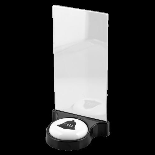 K-SP подставка  для кнопки вызова (чёрный)