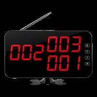 K-4-C табло отображения вызова (красный)