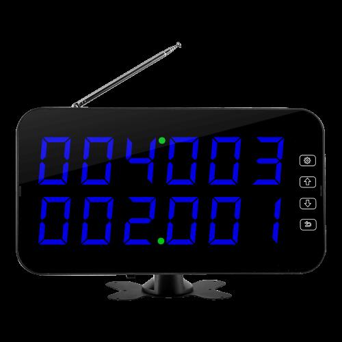 K-4-D табло отображения вызова (синий)