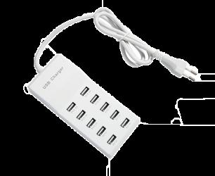 Зарядное устройство- адаптер (10 портов)