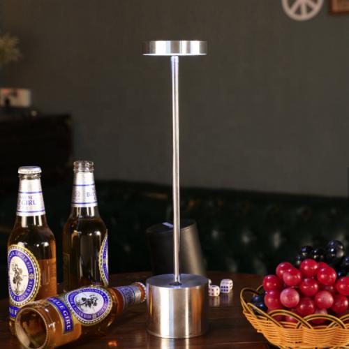 Беспроводной светильник WC900S (серебро)